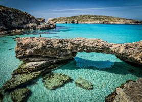 Tauchcenter Wuppertal Meeresauge Gozo Malta beach