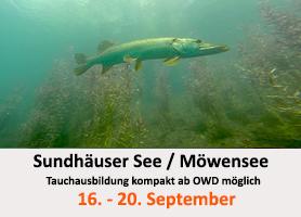 Tauchcenter-Wuppertal-Meeresauge-Gruppenreise-Sundhäuser-See