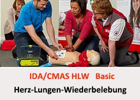 Erste Hilfe - CMAS HLW oder PADI EFR @ Tauchcenter Wuppertal