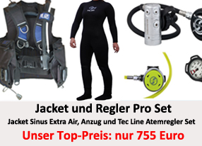 Tauchcenter-Wuppertal-Meeresauge-Shop-Sale-Jacket-und-Atemregler-Tauchanzug