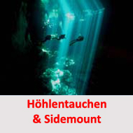 Tauchcenter-Wuppertal-Meeresauge-Sidemount-Cave-Höhlentauchen