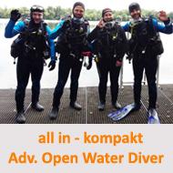 Tauchcenter-Wuppertal-Meeresauge-Tauchen-lernen-Beginner-IDA-CMAS-PADI-Kompaktkurs-AOWD-all-in