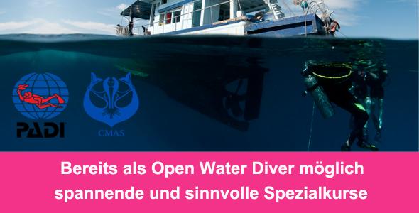 Tauchcenter-Wuppertal-Meeresauge-Tauchen-lernen-Beginner-IDA-CMAS-Spezialkurse-Banner