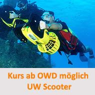Tauchcenter-Wuppertal-Meeresauge-Tauchen-lernen-Beginner-IDA-CMAS-Spezialkurse-Scooter