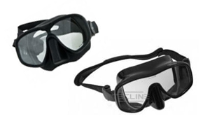 Tauchcenter-Wuppertal-Meeresauge-Tec-Maske-frameless-schwarz-set