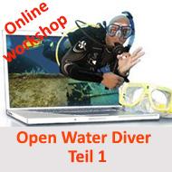 Open Water Diver / Scuba Diver- Teil 1- Online Workshop @ Online Workshop - E Learning