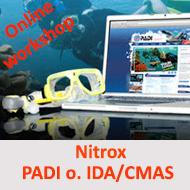 Nitrox Basic - Online Workshop - PADI oder IDA/CMAS @ Online Workshop - E Learning | Wuppertal | Nordrhein-Westfalen | Deutschland