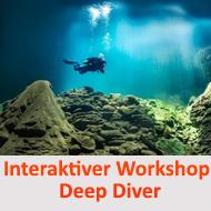 Tieftauchen - Interaktiver Workshop @ Online Schulungsraum Meeresauge