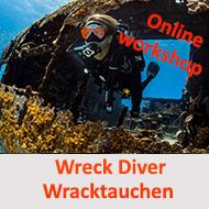 Wracktauchen - Online Workshop Grundlagentheorie @ Online Workshop - E Learning