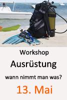 Tauchcenter_Wuppertal-Workshop-Ausrüstung